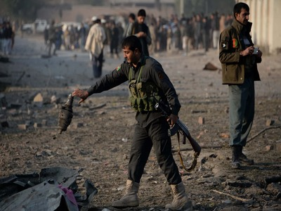 At least 13 killed in suicide bombing at Kabul education centre