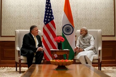 Secretary Pompeo and Esper to attend third round of U.S-India strategic dialogue in New Delhi today