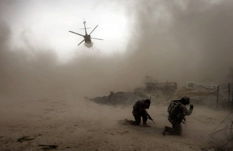 U.S. forces carry out targeted airstrikes in Central Afghanistan, killing five insurgents