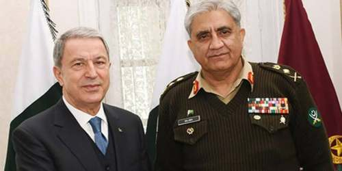 COAS Bajwa meets Turkish defence minister, discusses regional stability