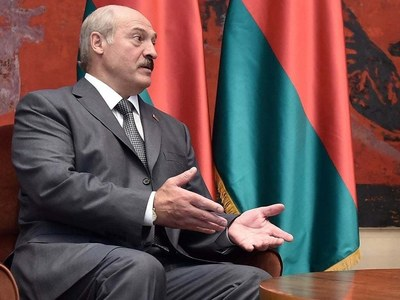 Belarus opposition leader says nationwide strike underway