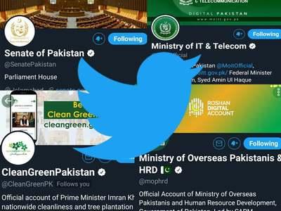 Twitter verifies 45 govt of Pakistan, representatives accounts