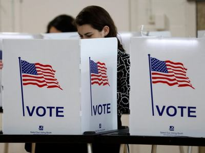 US pre-voting surpasses 70mn despite week remaining in Election Day