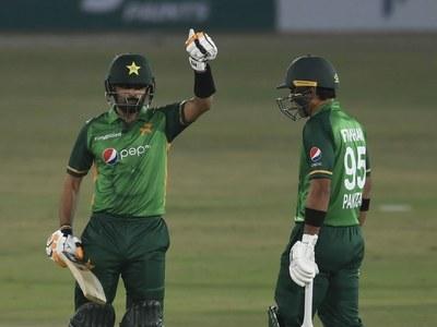 Iftikhar, Babar star in Pakistan's series-clinching win