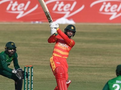 Williams propels Zimbabwe to 278-6 after Hasnain's five-wicket haul
