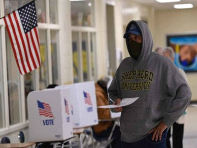 US Election Day begins as voters decide on Trump's fate