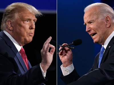 Biden at 238 electoral votes, Trump at 213: US media