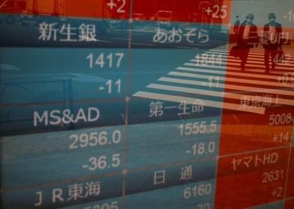 Asian shares at near three-year peak; dollar, U.S. yields head south