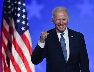 Biden says 'We're going to win this race' as his lead over Trump grows