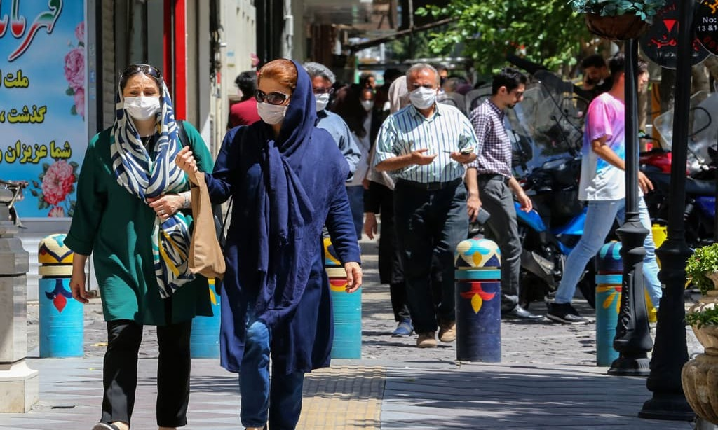 Iran reports record daily COVID-19 cases, announces new curbs