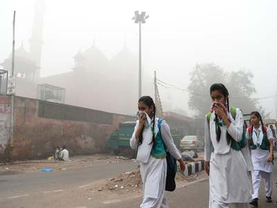 India's capital suffers from 'severe' air pollution for 3rd straight day
