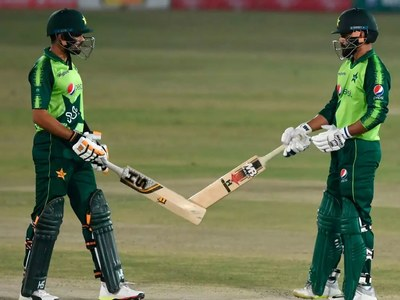 Azam leads Pakistan's rout of Zimbabwe in first T20 international