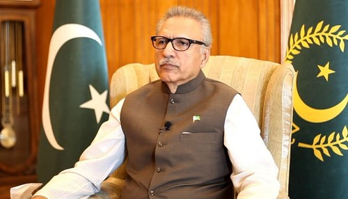 India playing spoiler's role in region, says President Alvi
