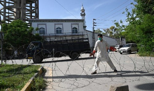 Rising coronavirus cases: Five areas in Islamabad put under smart lockdown