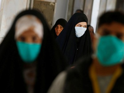 Iran's daily virus infections top 10,000