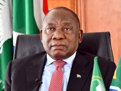 S.Africa president warns virus resurge would 'choke' economy