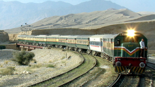 Railways resumes train operation between Quetta to Chaman