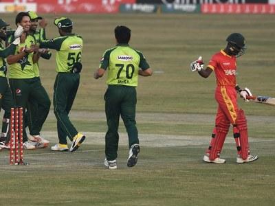 Zimbabwe out for 129-9 in third Twenty20 international