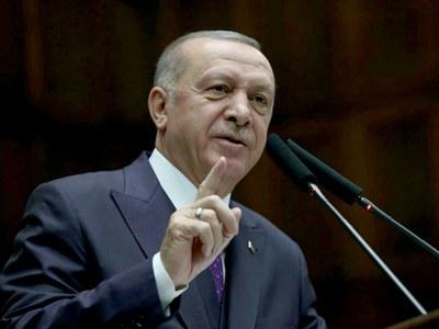Erdogan congratulates Biden, thanks Trump