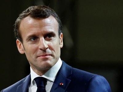 Macron holds first talks with Biden