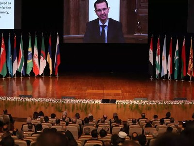 Damascus holds Russia-backed conference on refugee returns