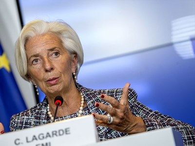 ECB's Lagarde sees 'unsteady' recovery despite vaccine hope