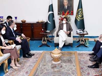 Chinese ambassador calls on PM Imran Khan