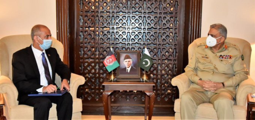 Afghan envoy, COAS discuss Afghan peace process, security issues