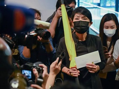 Hong Kong lawmaker resignations a 'challenge' to authority: China
