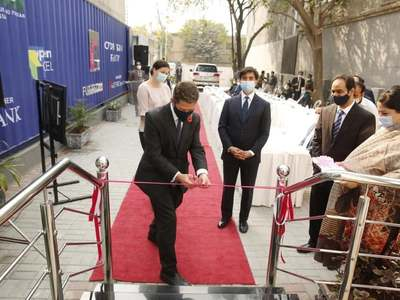Pakistan's first robot-operated COVID-19 lab inaugurated in Islamabad
