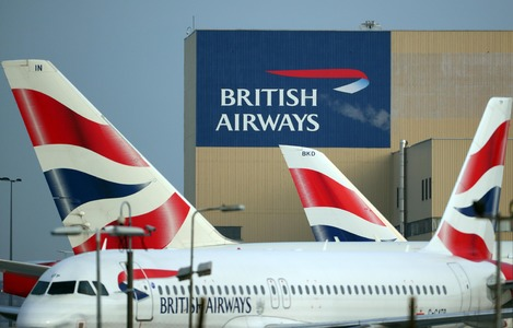 British Airways Stores Away its A380 Fleet in Madrid