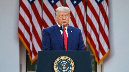 Trump admits Democratic rival Joe Biden won US election, but insists poll was fraudulent