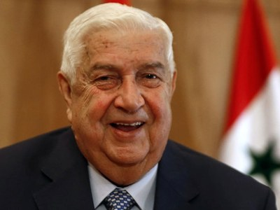Syria's foreign minister dies