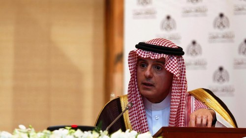 """Kingdom has the """"right"""" to develop nuclear weapons if Iran is not stopped, according to Saudi Foreign Minister"""