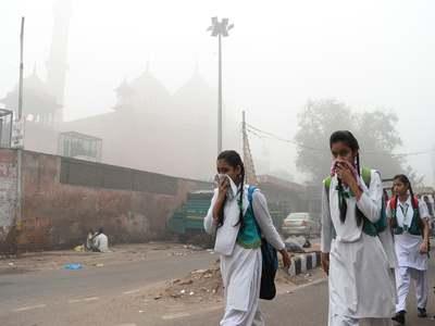 Hundreds sign up for Delhi race as it battles coronavirus surge, pollution