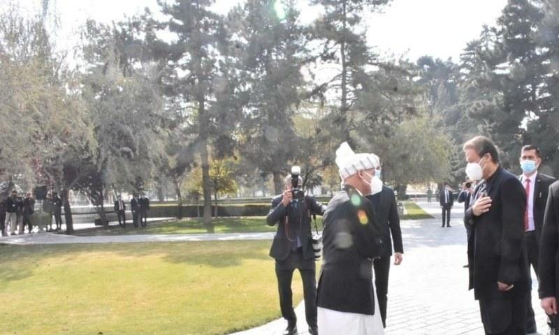Prime Minister Imran Khan meets President Ashraf Ghani