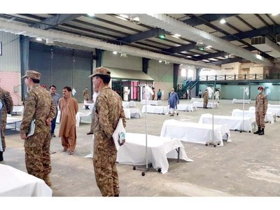 Sindh govt decides to reopen high dependency units at Expo Centre