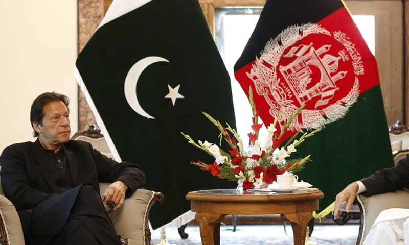 PM Khan visits Kabul, pledges support for Afghan peace