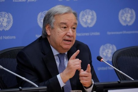 U.N. chief says Yemen in imminent danger of famine, warns against unilateral moves