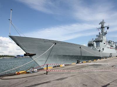 Joint military drills: PNS Zulfiqar visits Jordan port