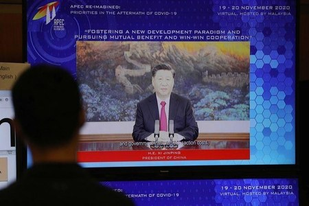 China's Xi calls for using QR Code technology to resume global travel