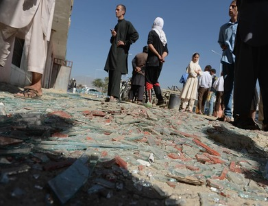14 dead as twin blasts rock historic Afghan city
