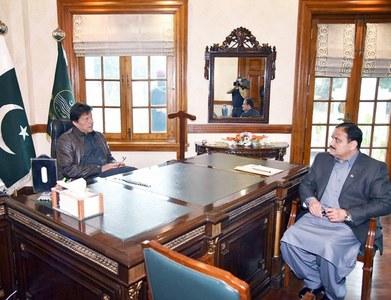 PM Imran meets CM Buzdar during Lahore visit