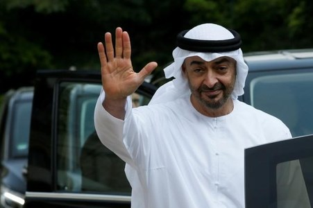 Abu Dhabi crown prince, Israeli PM nominated for Nobel Peace Prize