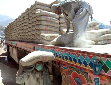 Cement exports increase 11.79pc during July-October 2020