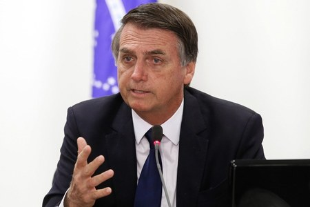 Brazil's Bolsonaro says won't take virus vaccine