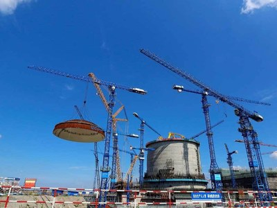 China's first domestically made nuclear reactor goes online