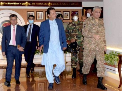 PM, army chief briefed by DG ISI
