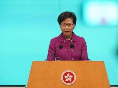 HK's top leader piles up cash at home after US sanctions
