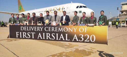 AirSial A320 aircraft reaches Pakistan, to begin operation next month